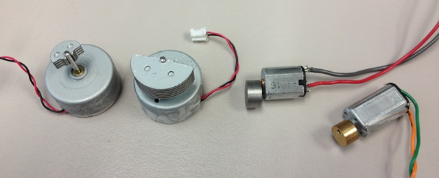 Haptic Feedback Motors