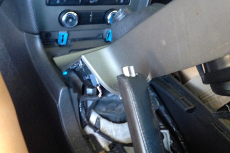Lift Up Center Console